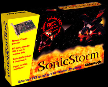 The Sonic Storm box